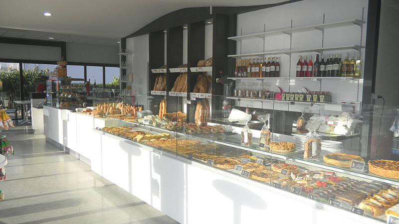 Agencement boulangerie snack aranda mas - Decoration snack moderne ...